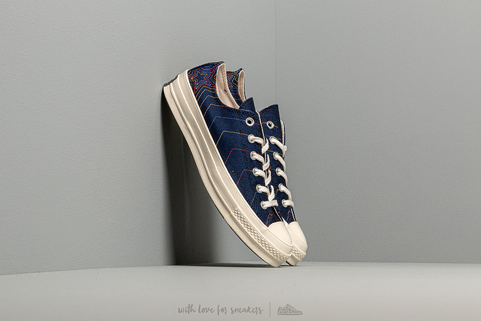 Men's shoes Converse Chuck 70 OX Obsidian/ Ozone Blue