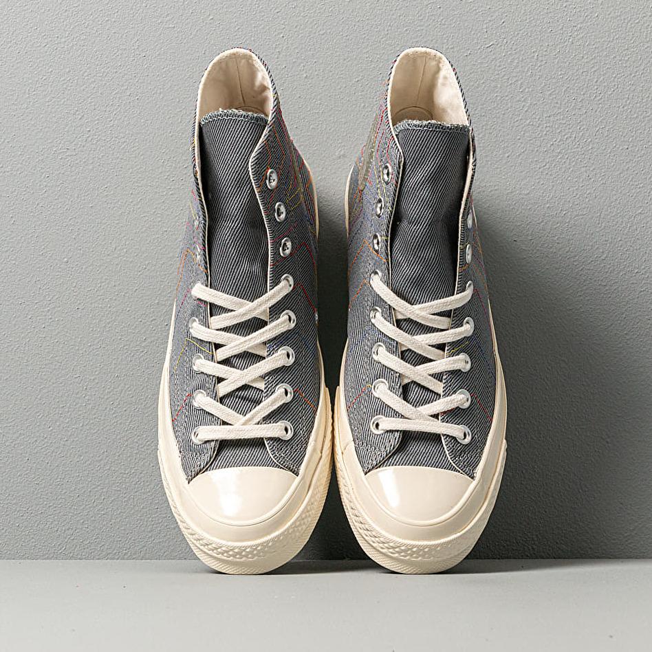 Converse Chuck 70 Hi Black Cool Grey Egret, Gray