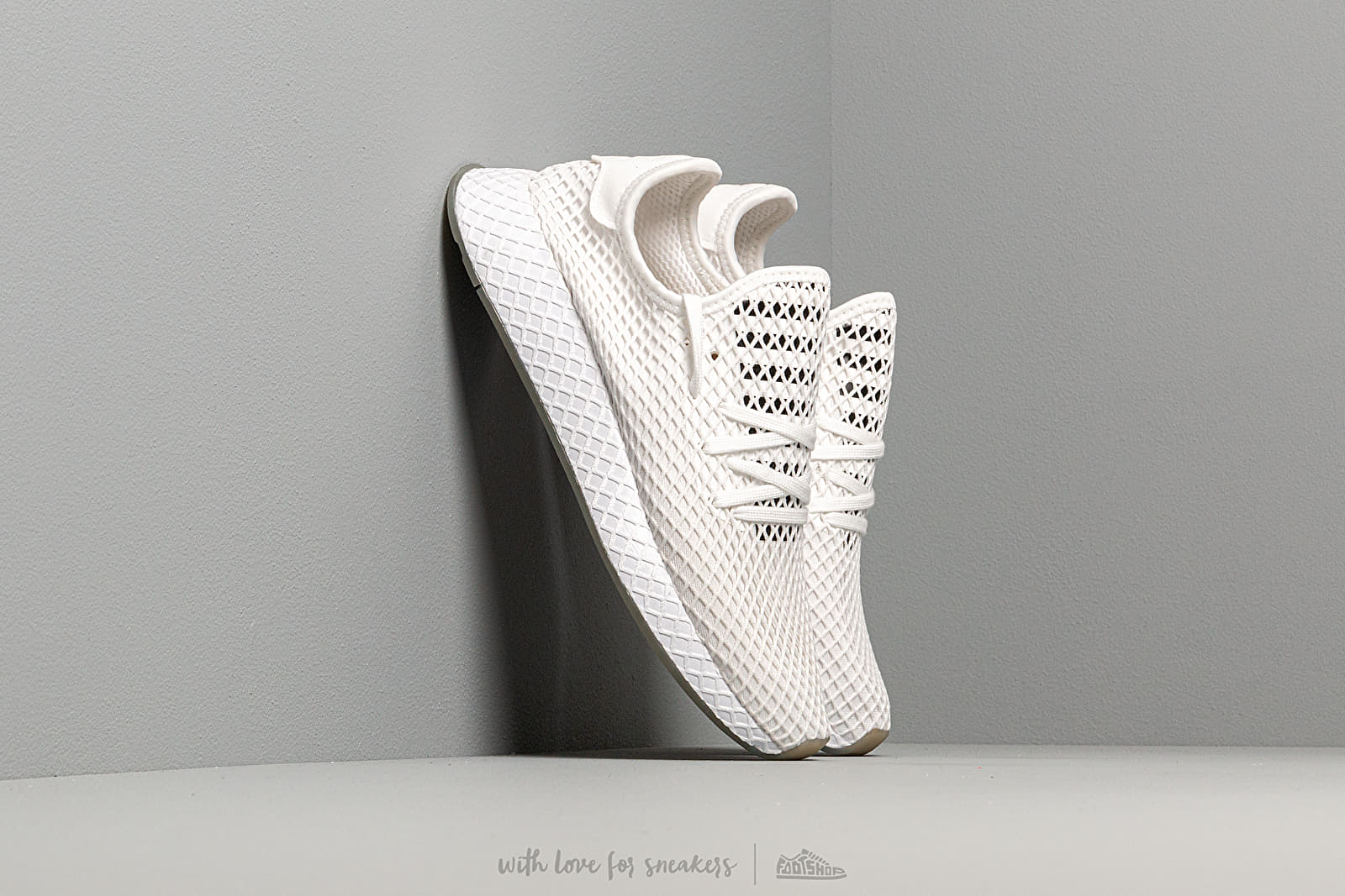 adidas Deerupt Runner Ftw White Core Black Sesame | Footshop
