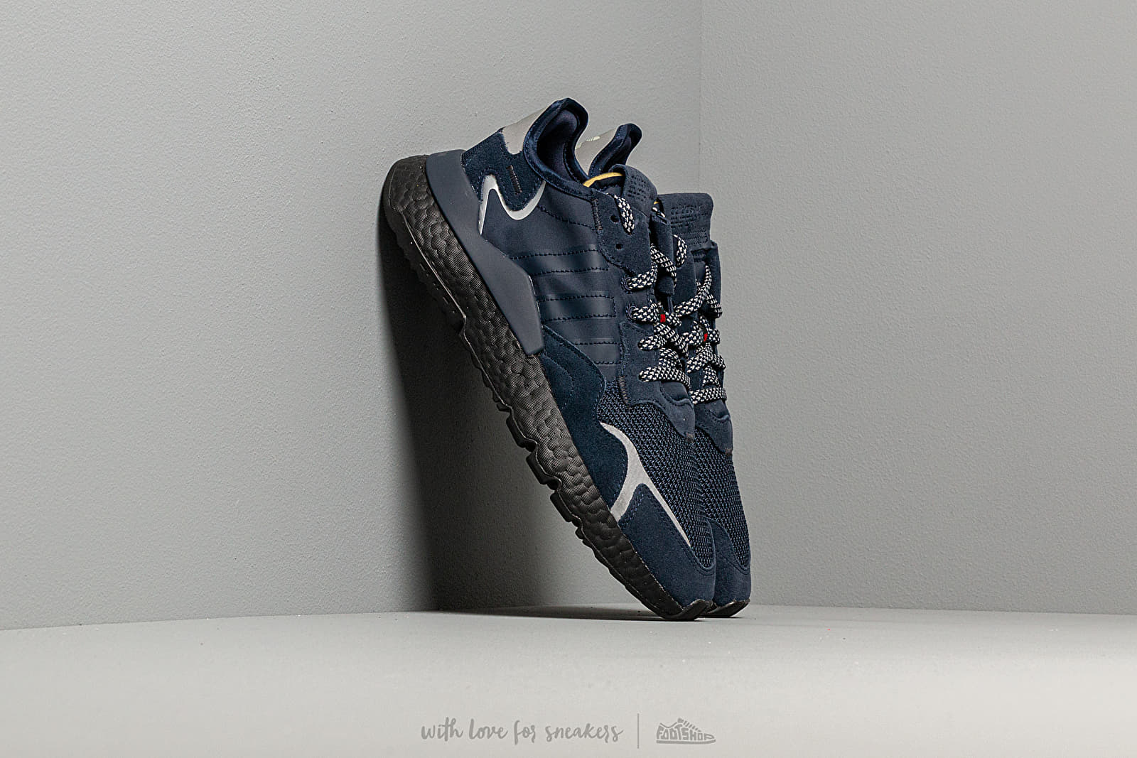 Men's shoes adidas Nite Jogger 3M Collegiate Navy/ Collegiate Navy/ Core Black
