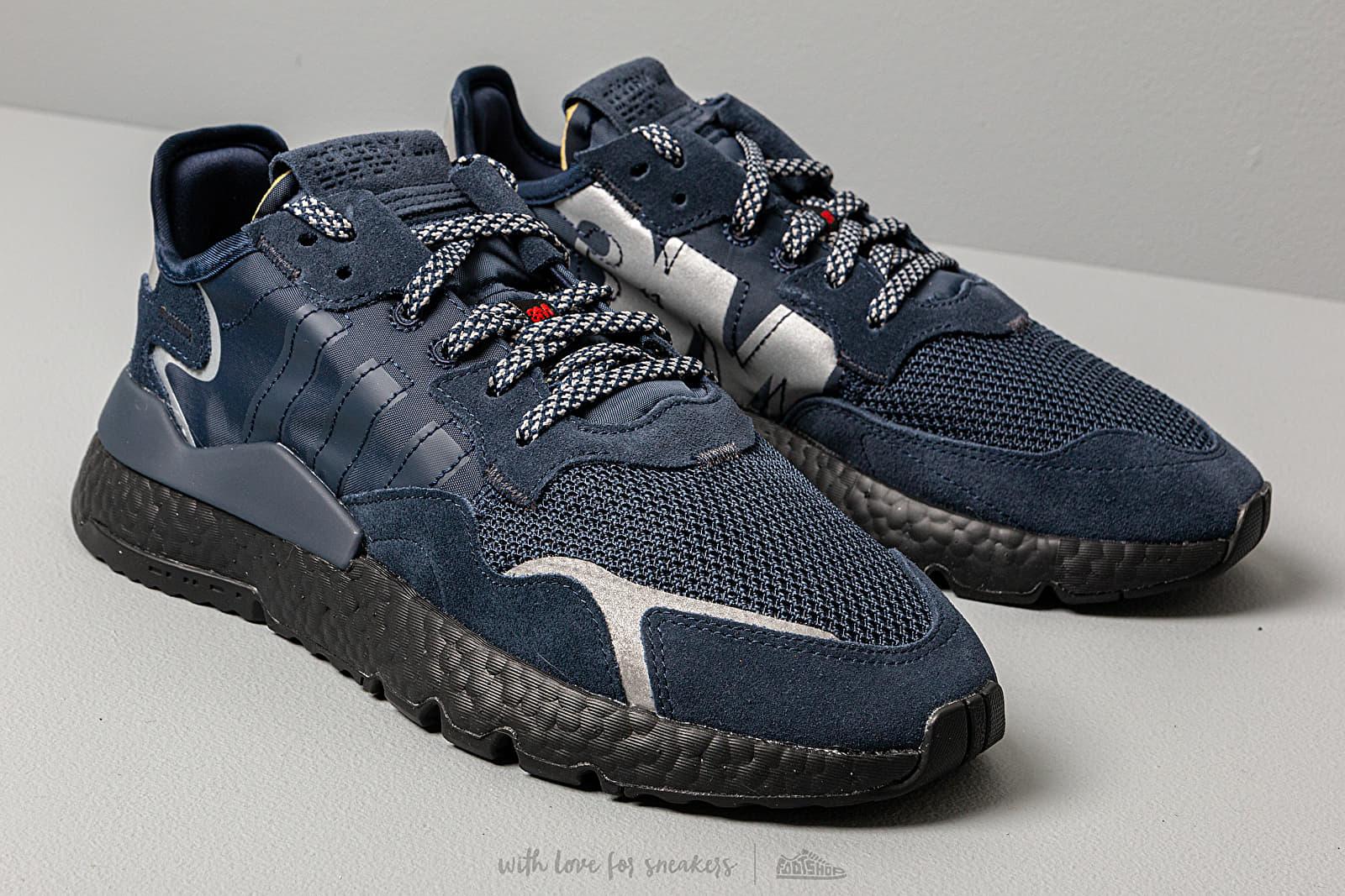 adidas Nite Jogger 3M Collegiate Navy Collegiate Navy Core Black   Footshop
