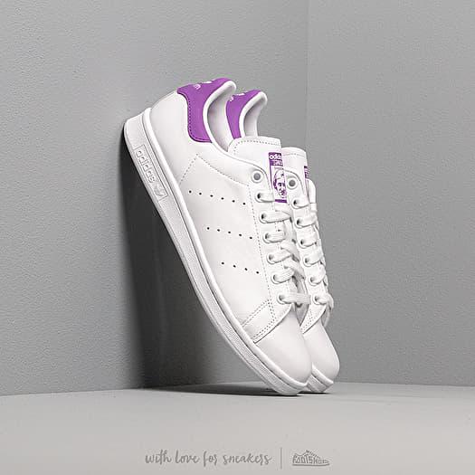 adidas Stan Smith W Ftw White Active Purple Ftw White