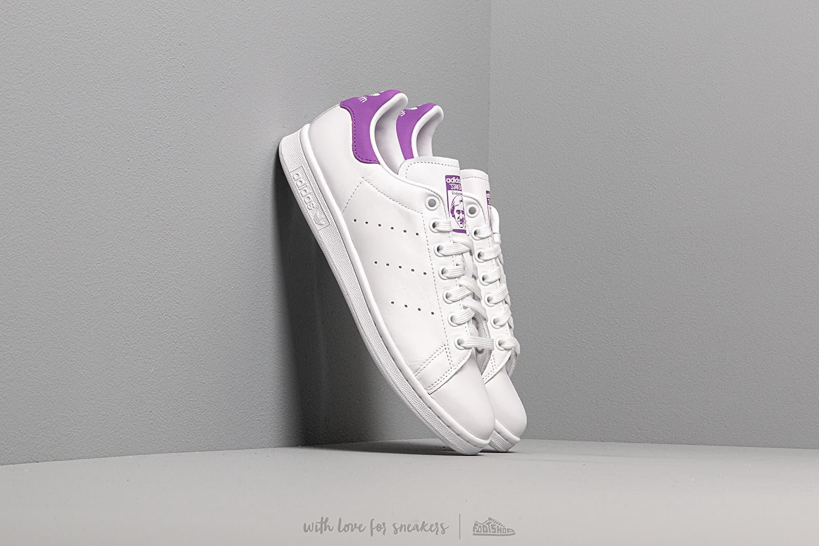 Women's shoes adidas Stan Smith W Ftw White/ Active Purple/ Ftw White