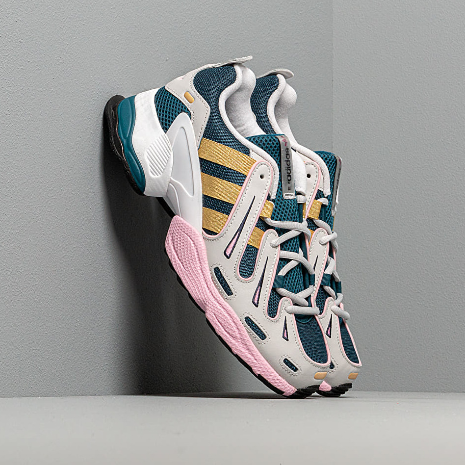 adidas EQT Gazelle W Tech Mint/ Gold Metalic/ True Pink EUR 41 1/3