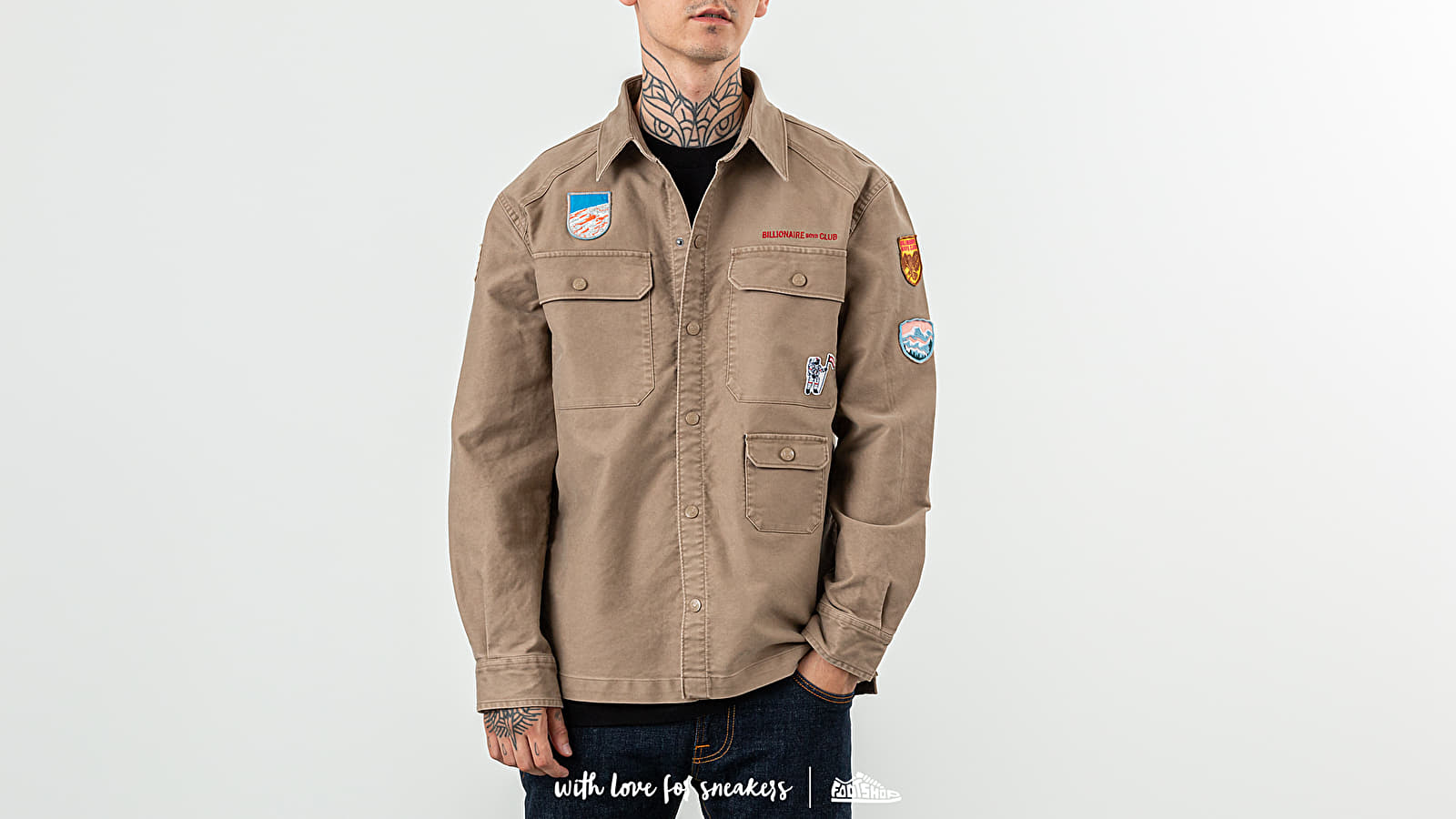 Billionaire Boys Club Field Trip Scout Shirt