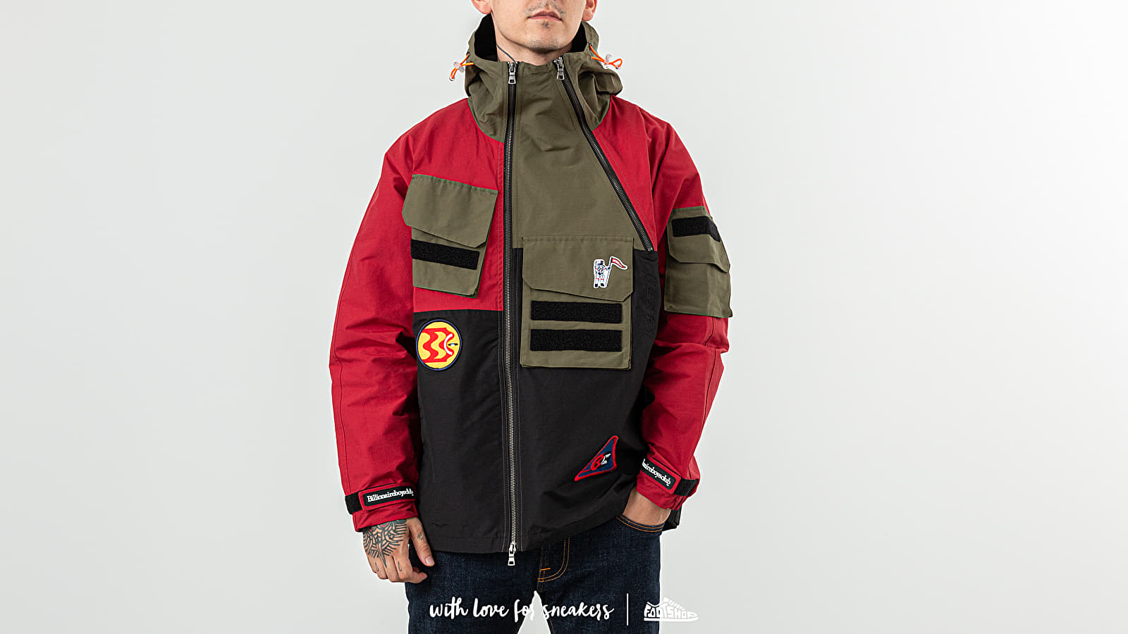 Billionaire Boys Club Expedition Training Jacket
