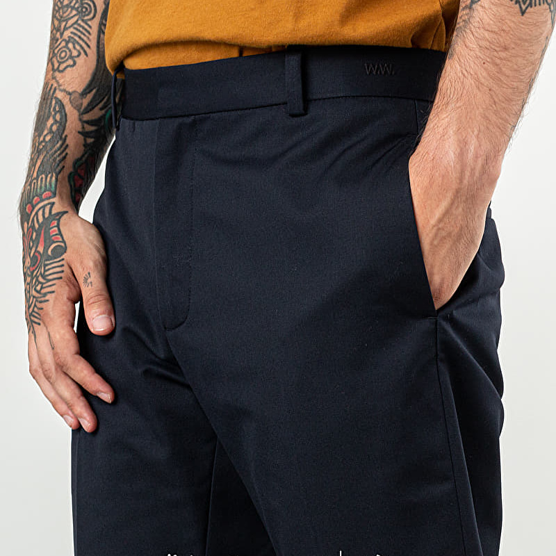 WOOD WOOD Tristan Trousers Navy, Blue