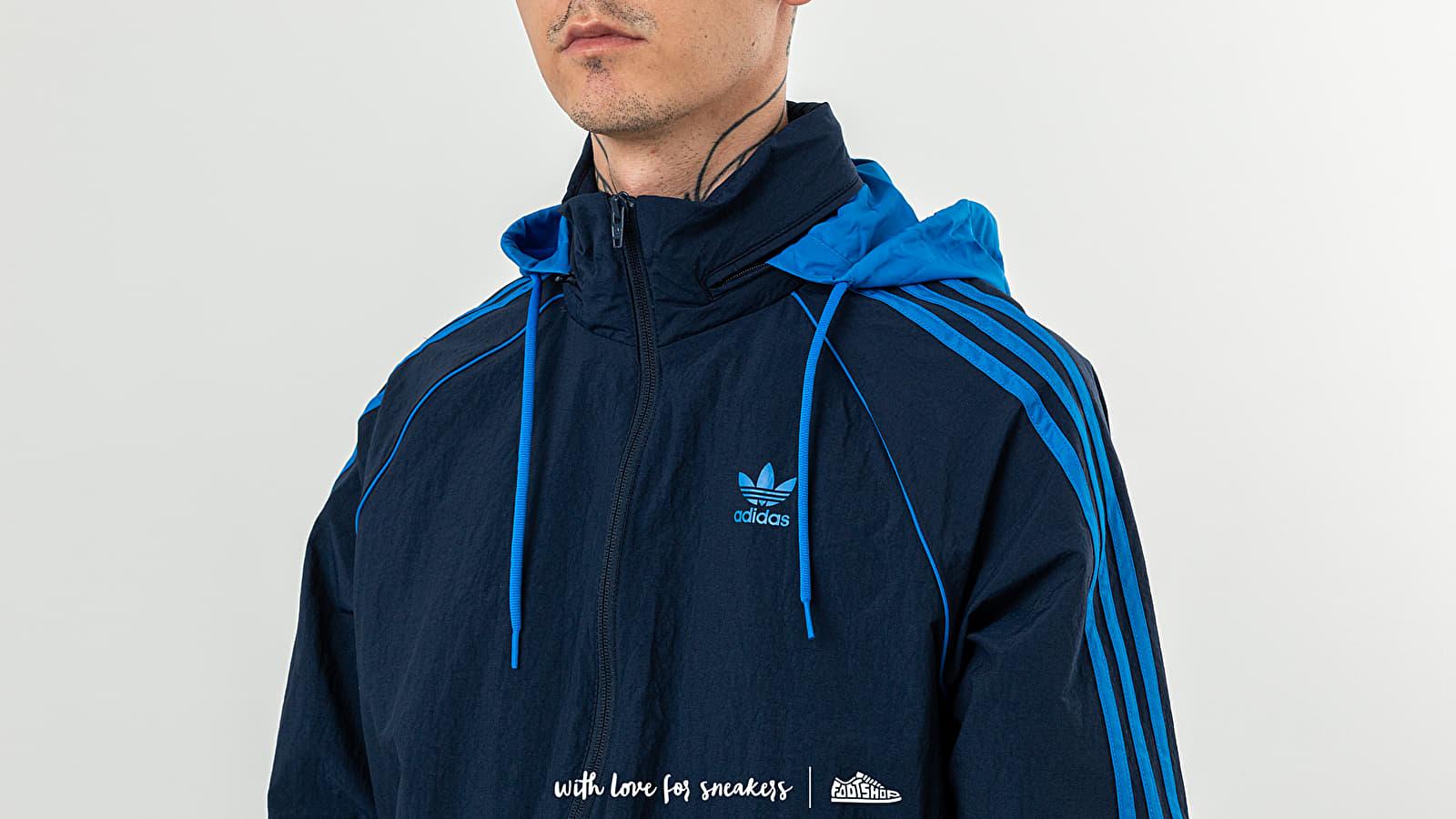adidas Superstar Windbreaker Jacket Collegiate Navy   Footshop