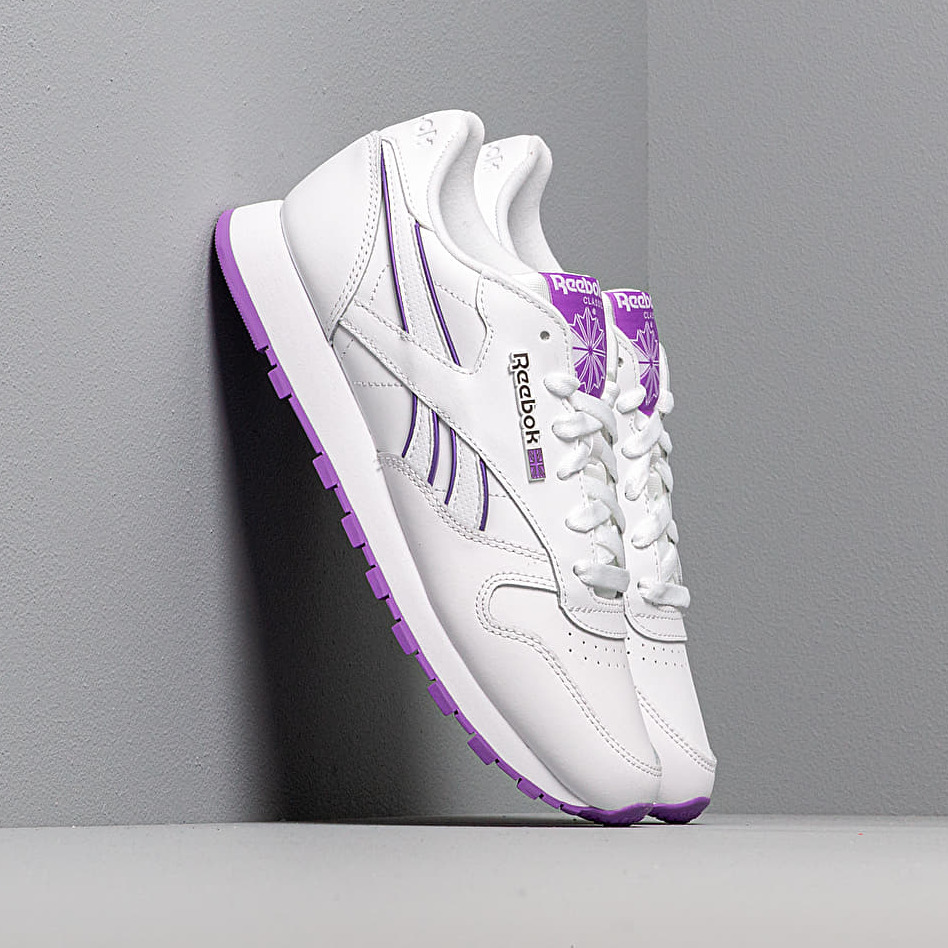 Reebok Classic Leather White/ Grape Punch EUR 39