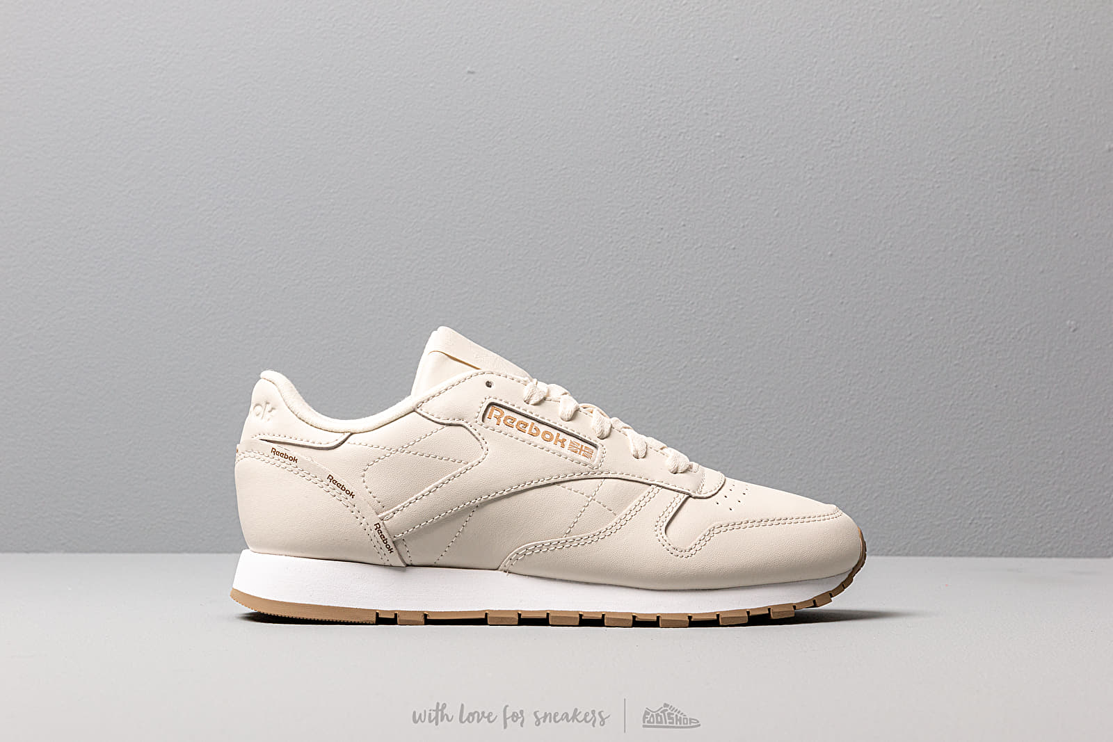 Reebok Classic Leather Alabaster Thatch White | Footshop