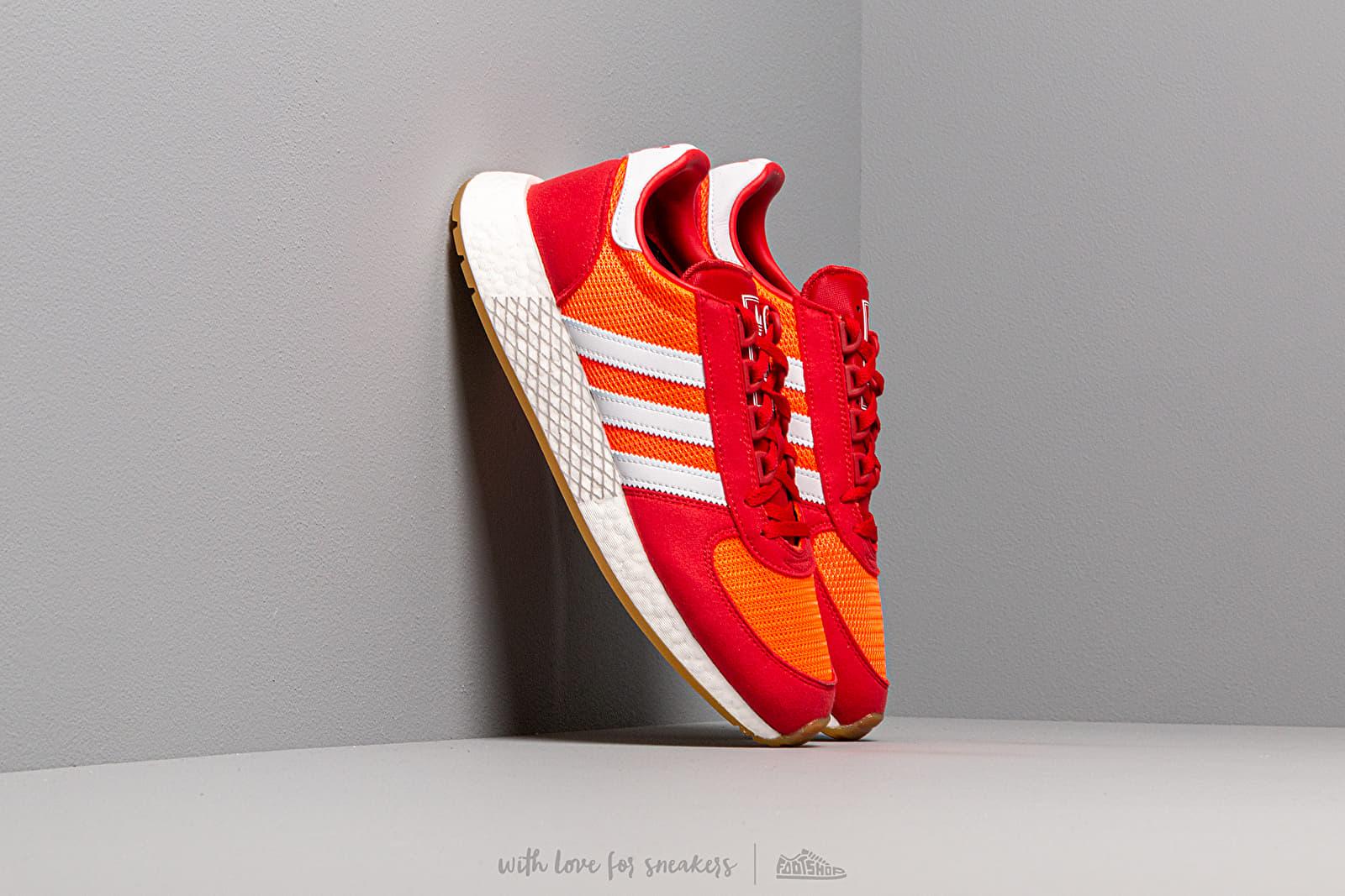 Ανδρικά παπούτσια adidas Marathon Tech Solar Red/ Ftw White/ Scarlet