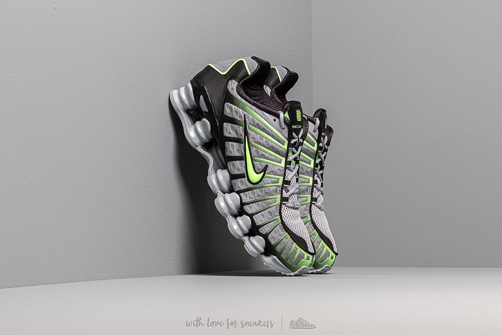 Pánské tenisky a boty Nike Shox TL Wolf Grey/ Lime Blast-Black