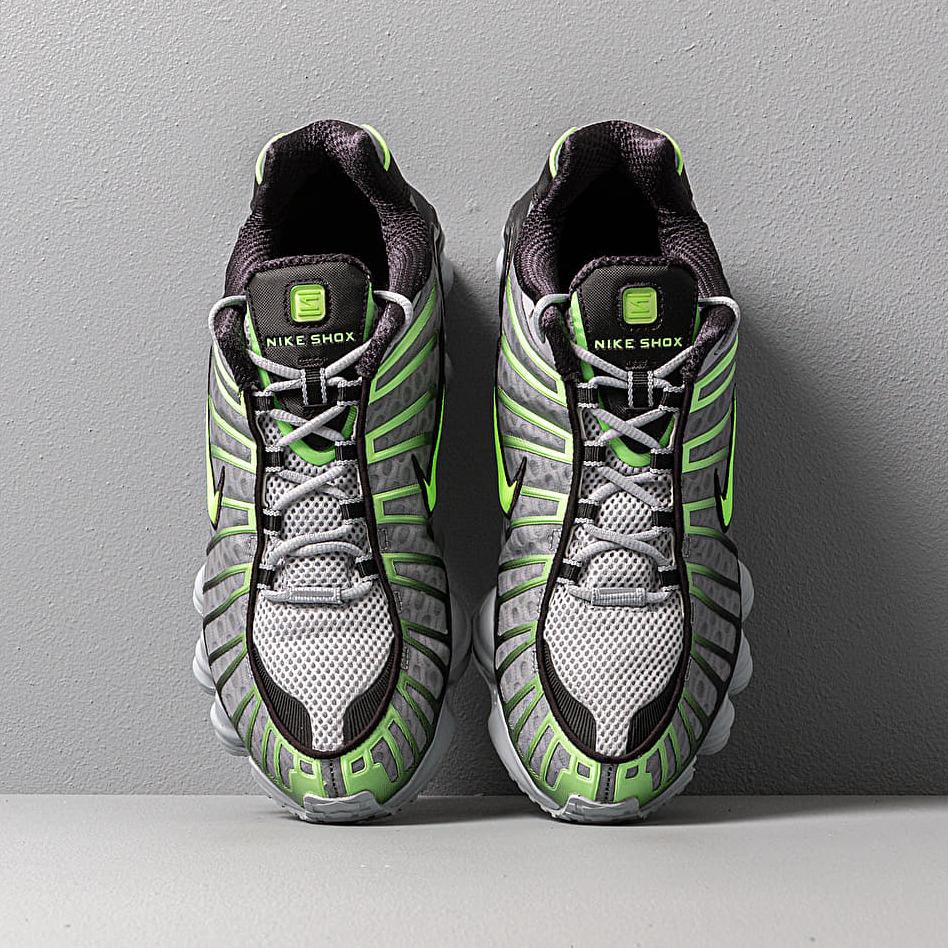Nike Shox TL Wolf Grey/ Lime Blast-Black, Gray