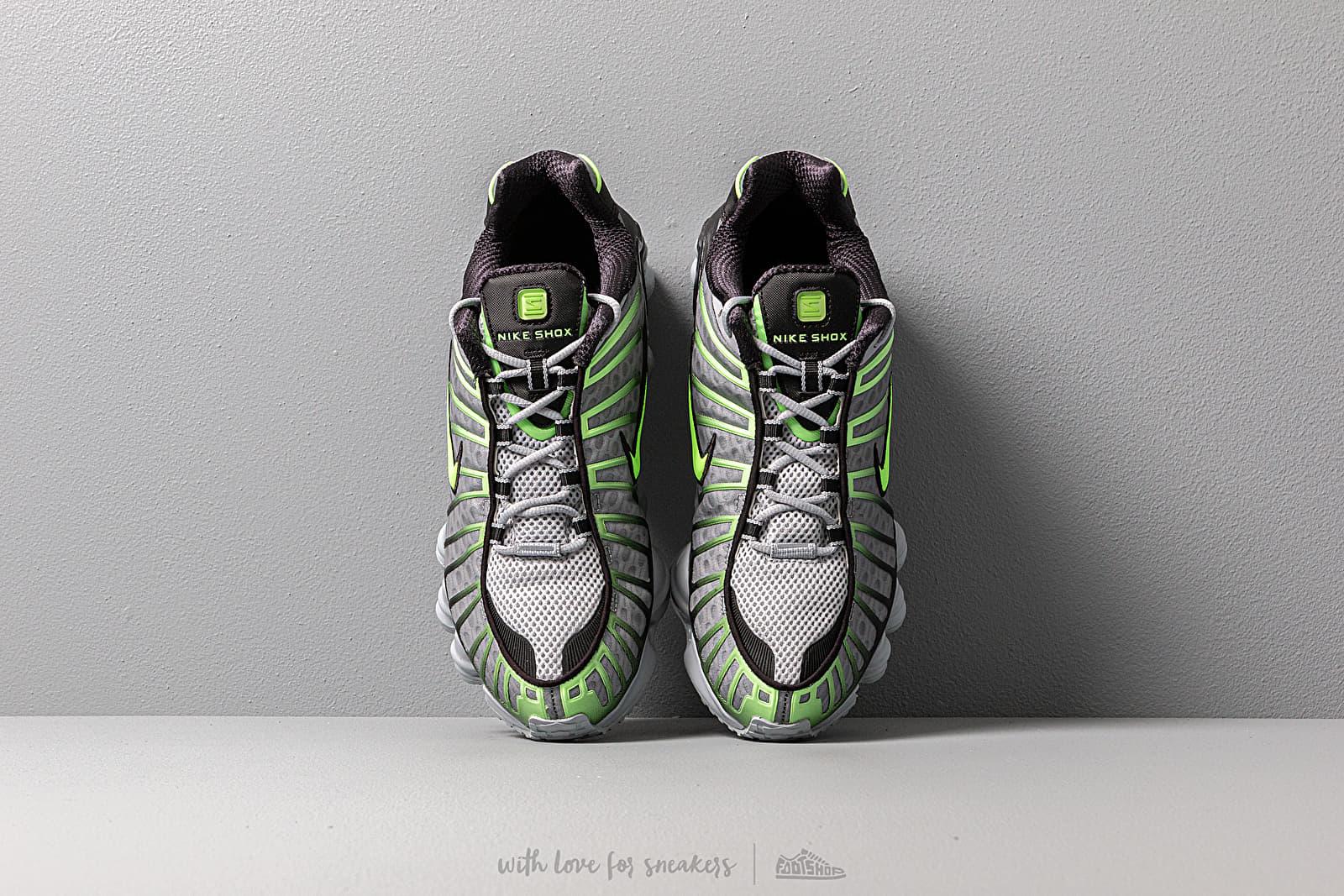 comerciante Olla de crack válvula  Men's shoes Nike Shox TL Wolf Grey/ Lime Blast-Black | Footshop