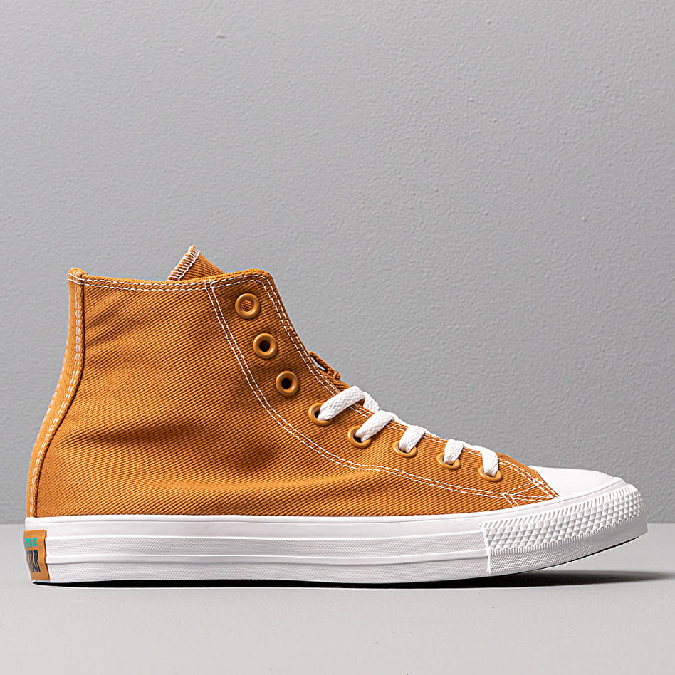 Converse Chuck Taylor All Star Hi Wheat/ Turbo Green/ White, Brown
