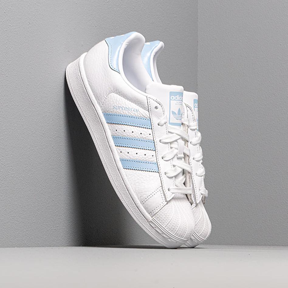 adidas Superstar W Ftw White/ Glow Blue/ Core Black EUR 40