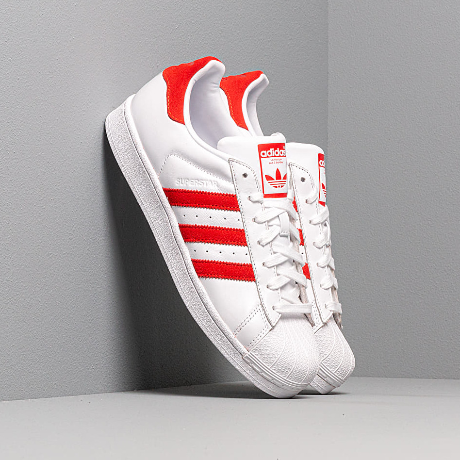 adidas Superstar Ftw White/ Active Red/ Ftw White EUR 47 1/3