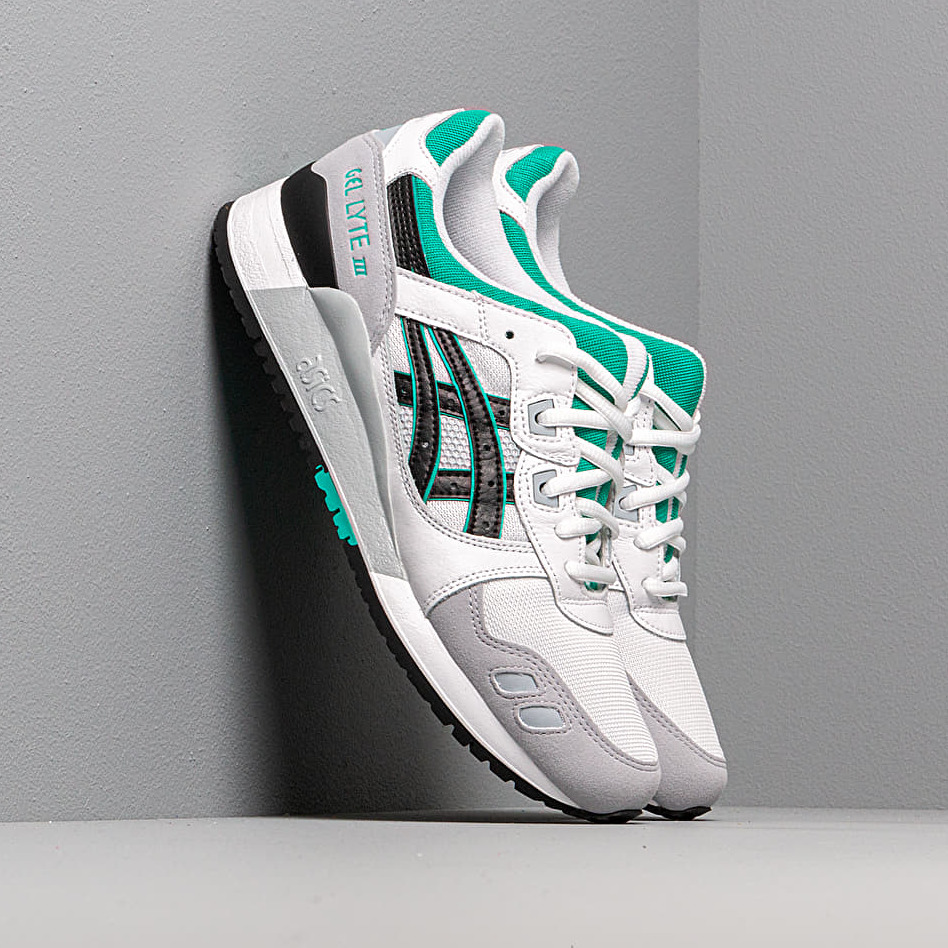 Asics Gel-Lyte III White/ Black EUR 40.5