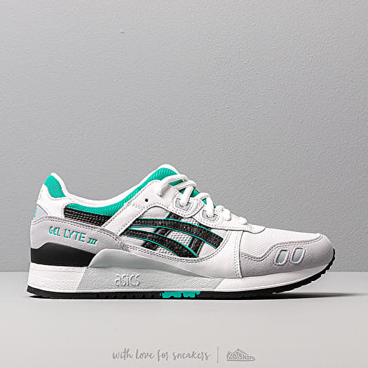 new styles 92336 08b22 Asics Gel-Lyte III White/ Black | Footshop