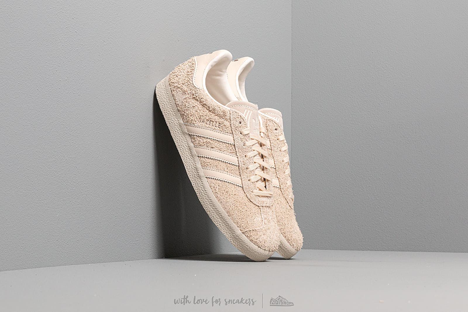 Γυναικεία παπούτσια adidas Gazelle W Ecru Tint/ Ecru Tint/ Core White