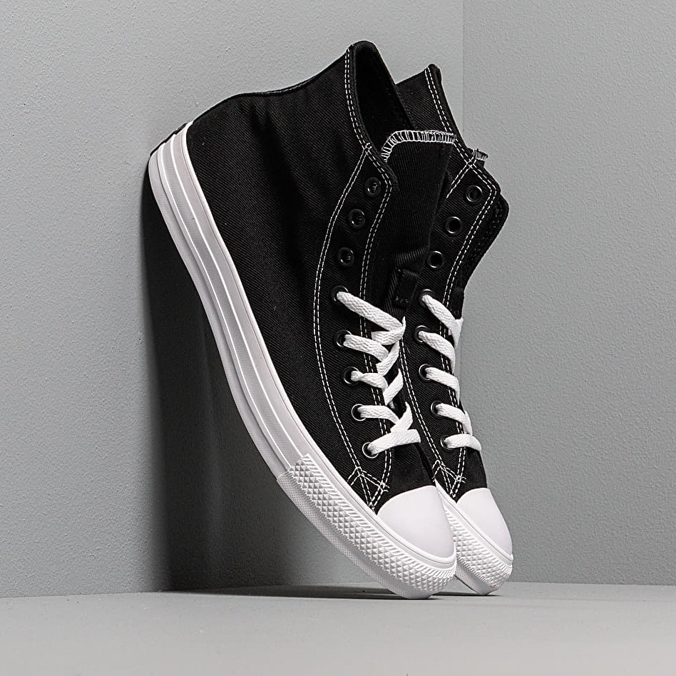 Converse Chuck Taylor All Star Hi Black/ Enamel Red/ White EUR 41.5
