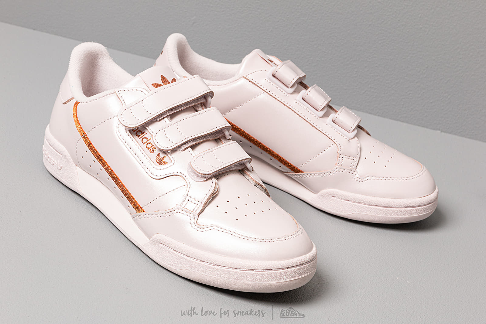 adidas Continental 80 W Strap Orchid Tint/ Copper Metalic ...