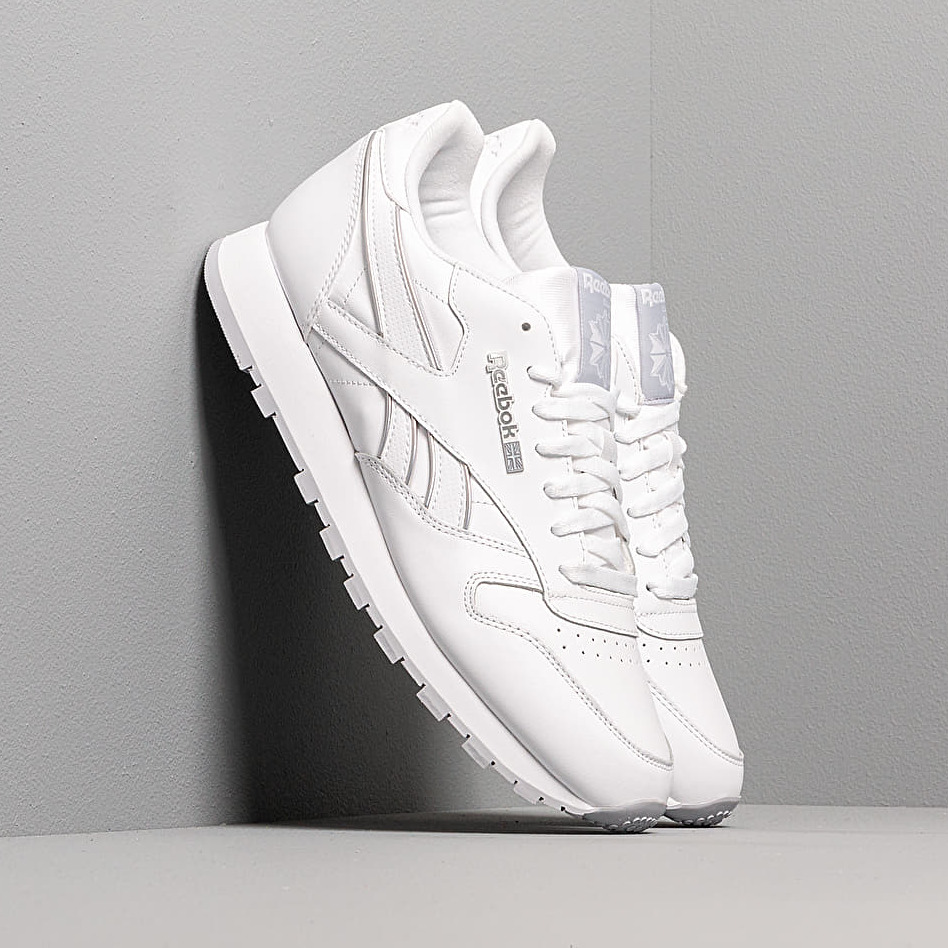 Reebok Classic Leather Mu White/ Cd Grey 2/ White EUR 45