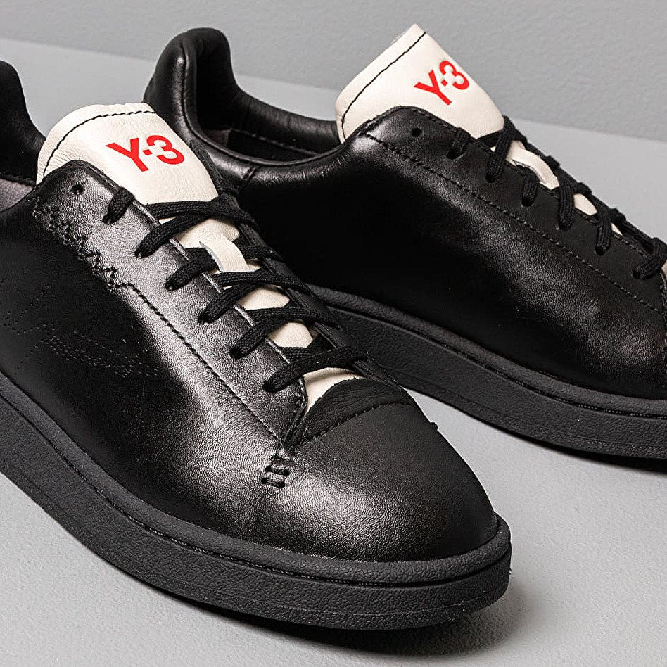 Y-3 Yohji Court Black-Y3/ Black-Y3/ Core White