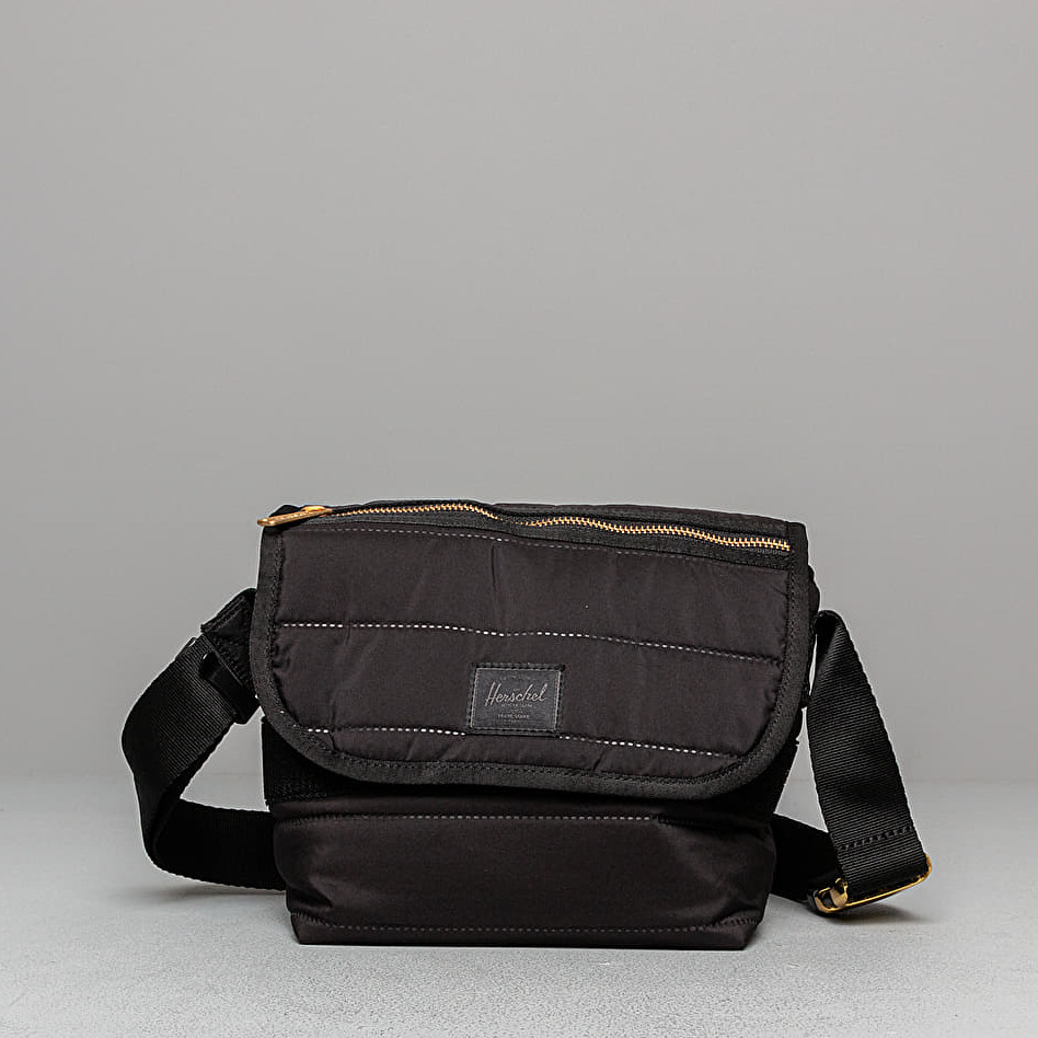 Herschel Supply Co Grade Messenger Mini Crossbody Black