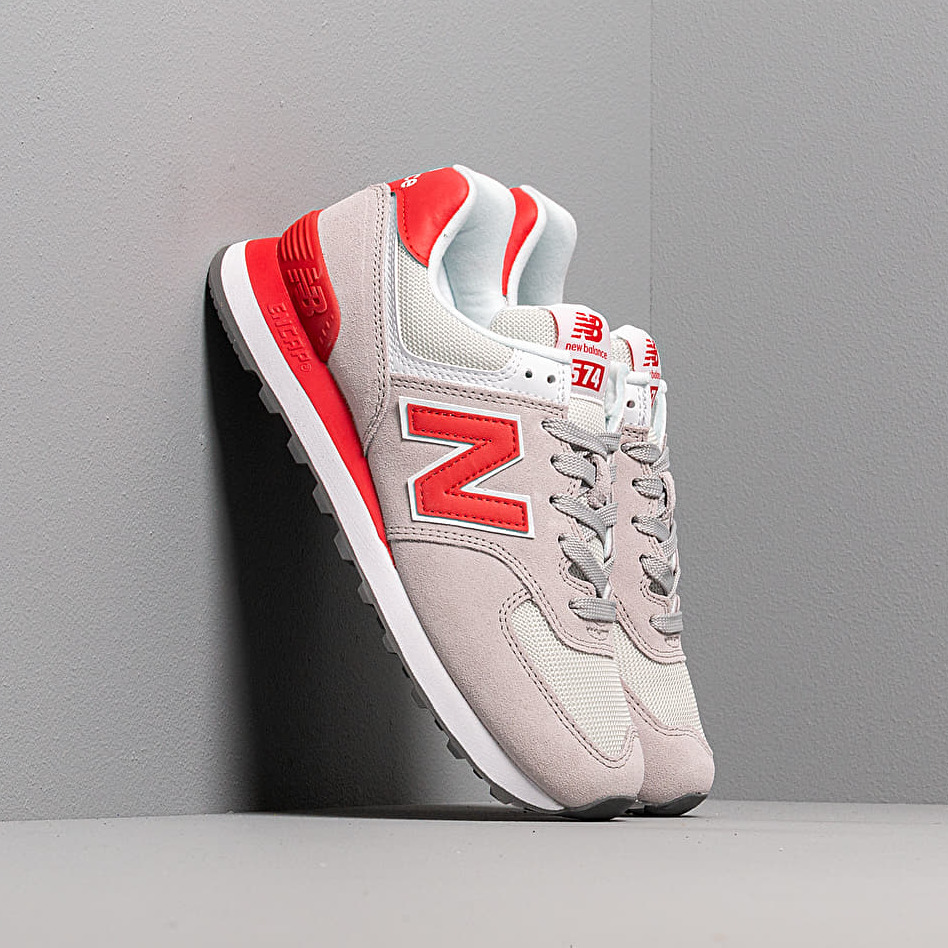 New Balance 574 Grey/ Red EUR 40.5