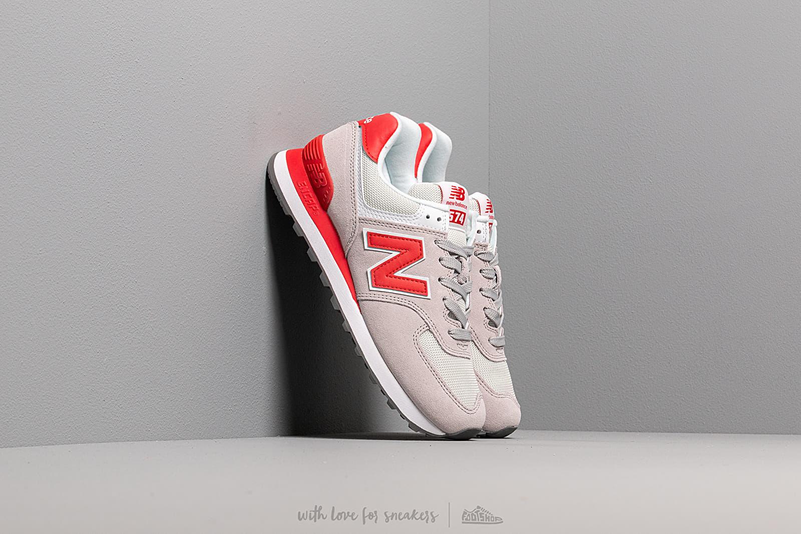 Dámské tenisky a boty New Balance 574 Grey/ Red