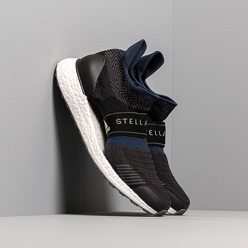 adidas x Stella McCartney UltraBOOST X 3D Black White Night Indigo Noir Blue