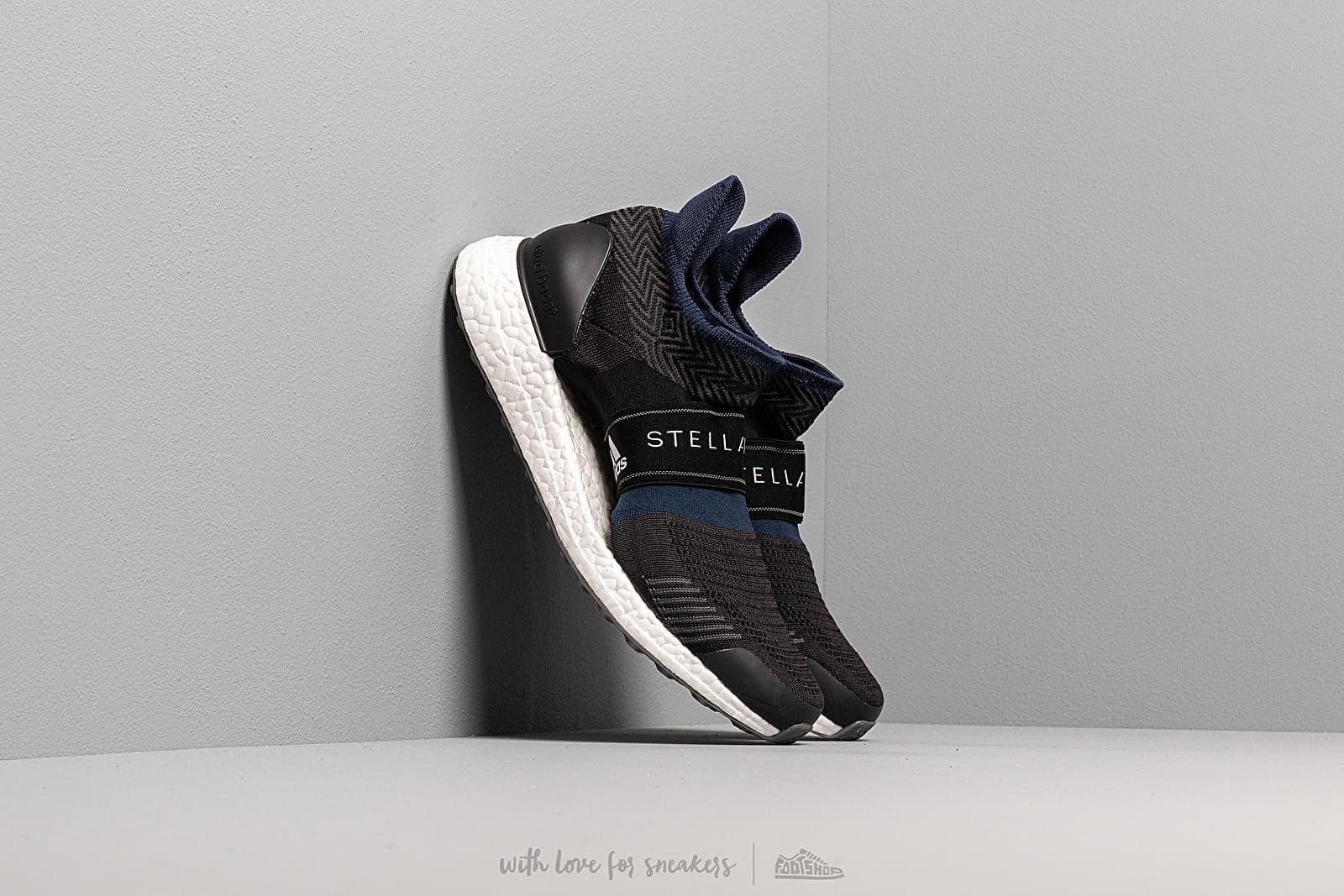 best website ff9f8 f62cd adidas x Stella McCartney UltraBOOST X 3.D. Black White/ Night Indigo/ Noir  Blue | Footshop