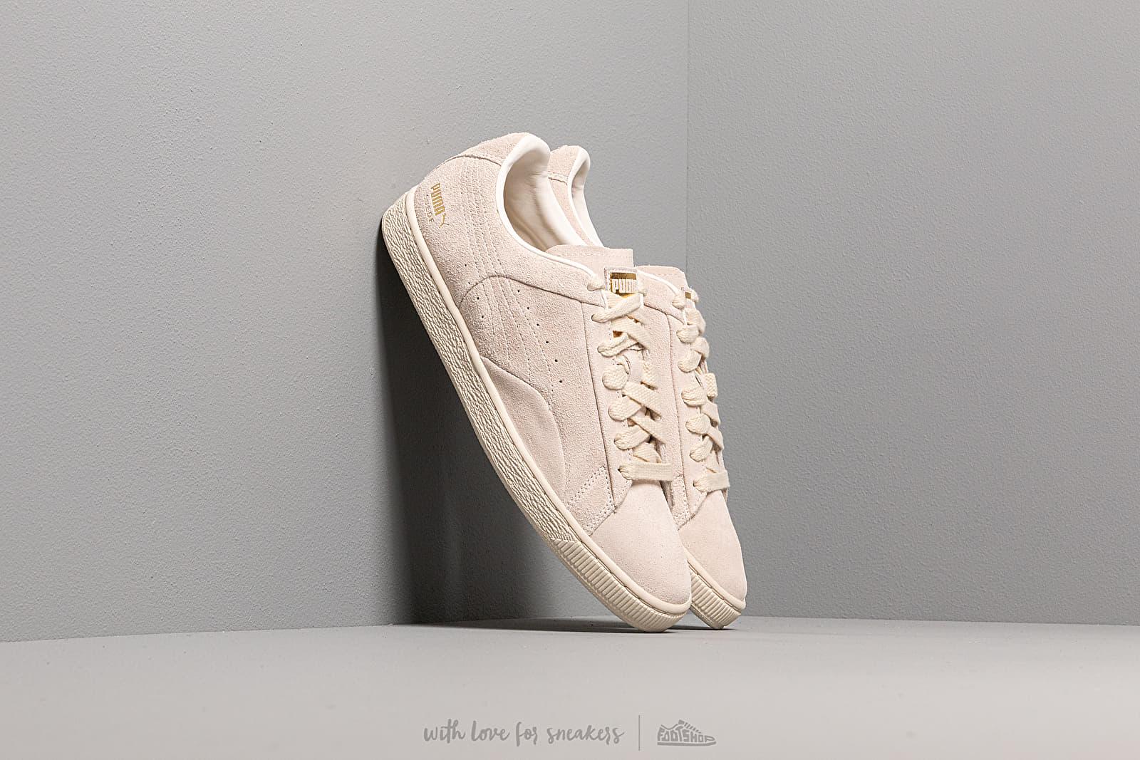Men's shoes Puma Suede Notch Whisper White-Metallic Gold