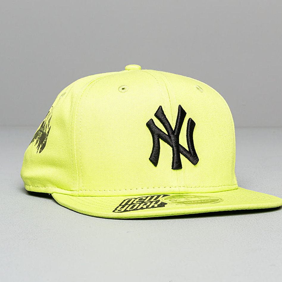 New Era 9Fifty MLB Hard New York Yankees Cap Neon Green S-M