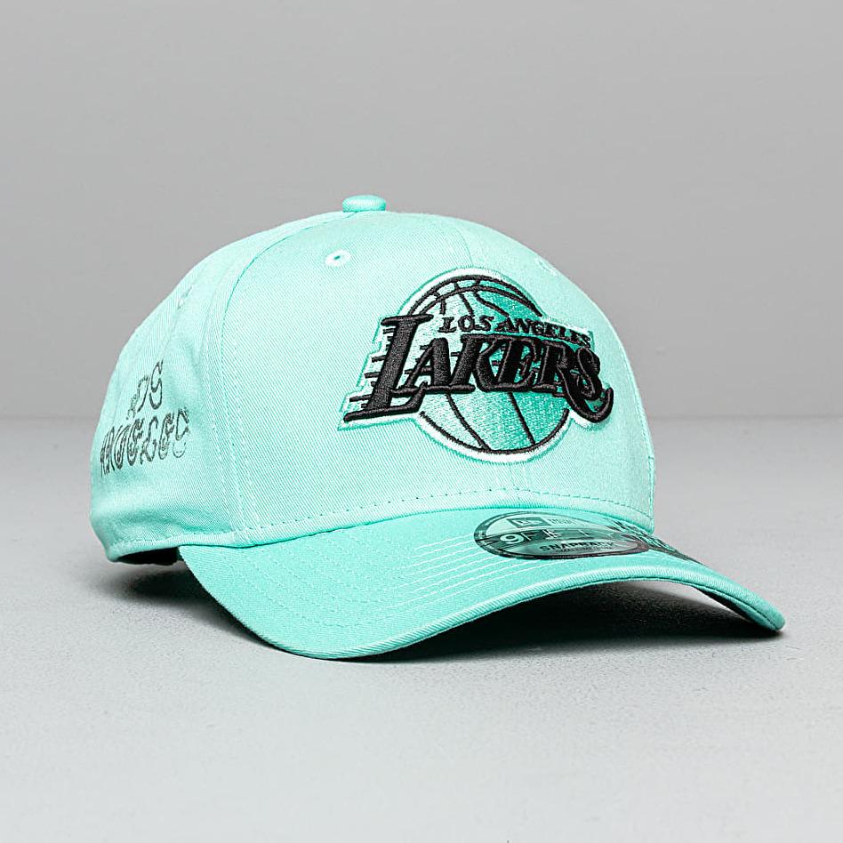 New Era 9Fifty NBA Hard Neon Los Angeles Lakers Cap Blue