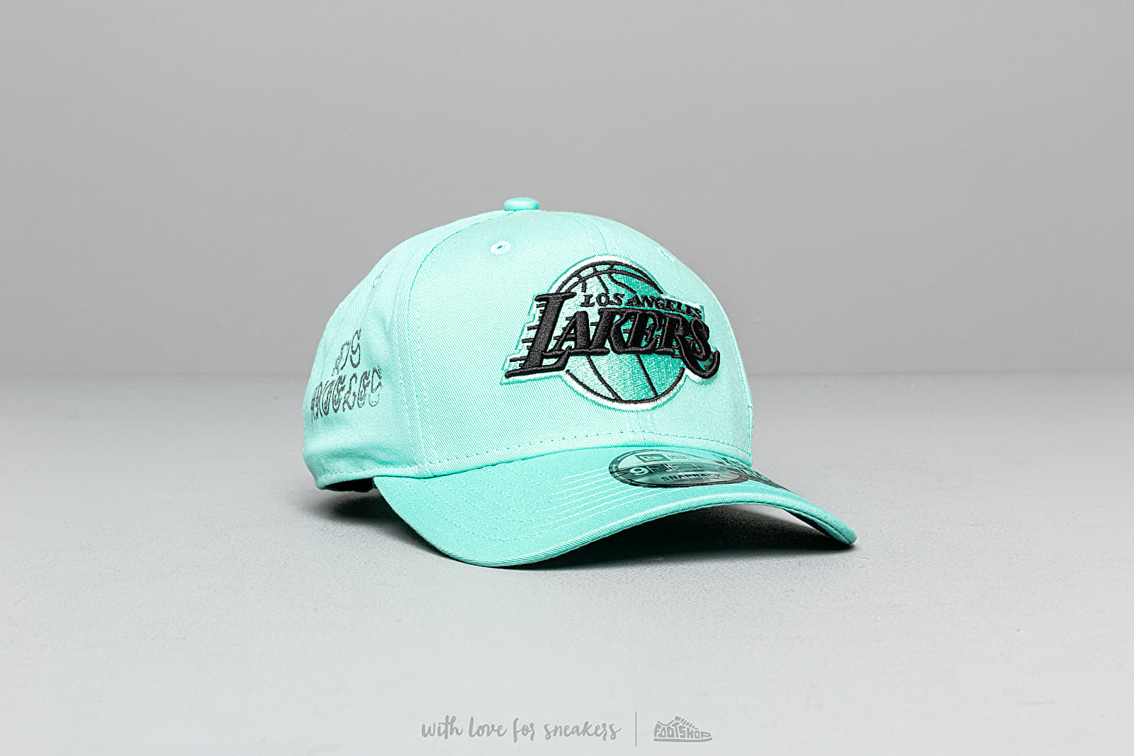New Era 9Fifty NBA Hard Neon Los Angeles Lakers Cap