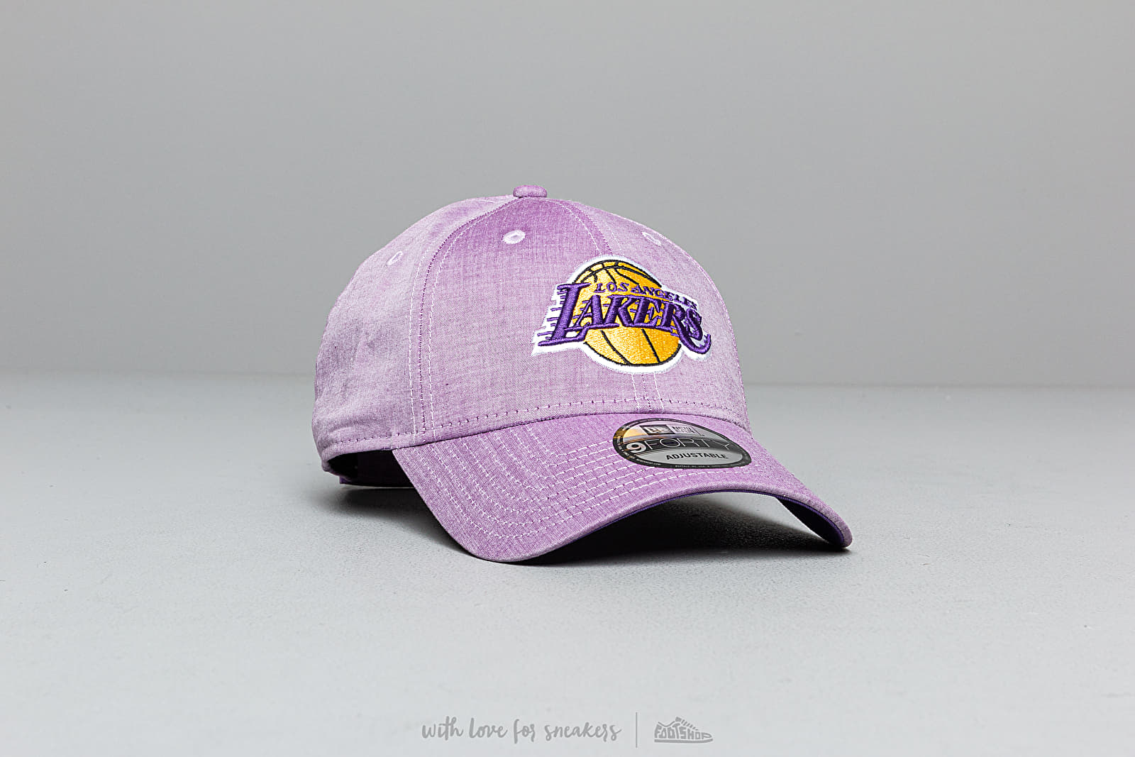 New Era 9Forty NBA Chambray League Los Angeles Lakers Cap
