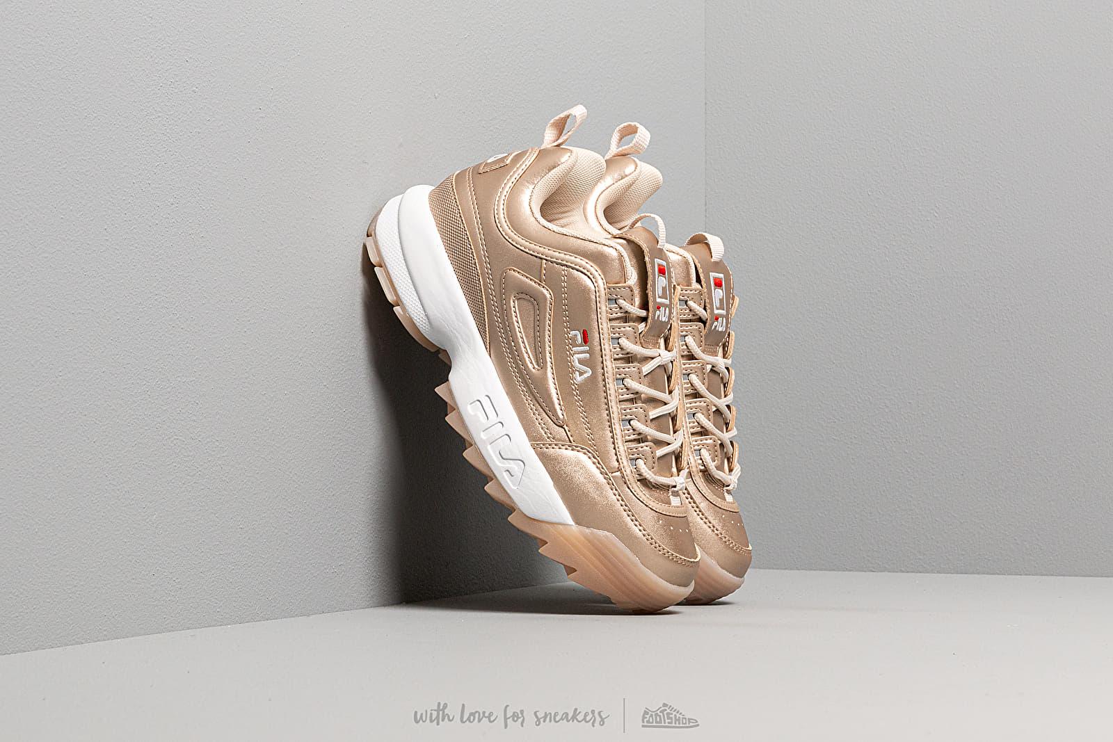 Жіноче взуття Fila Disruptor M low wmn Gold