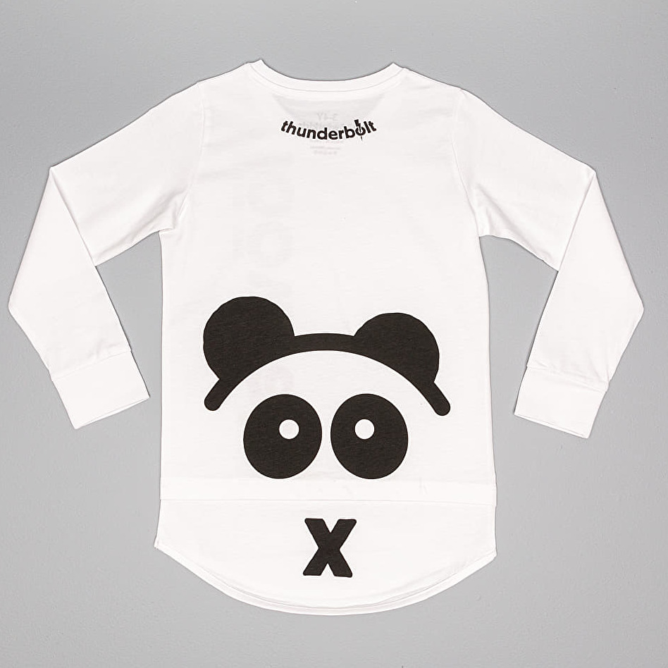 LoowFAT KIDS Si: Bling Longsleeve T-Shirt White