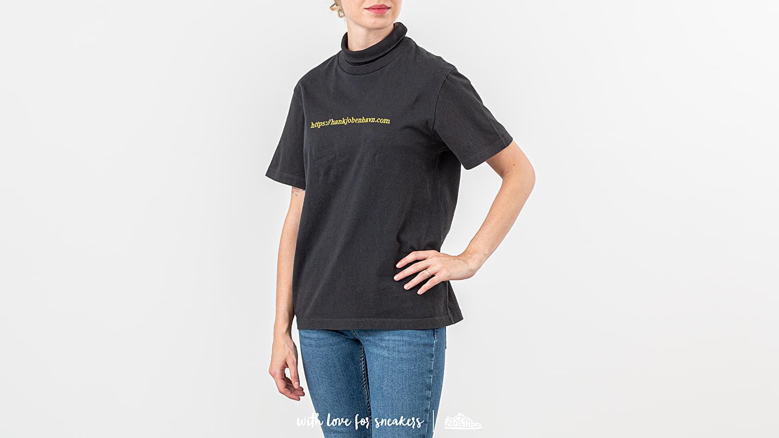 Majice i košulje Han Kjøbenhavn Collar Tee Black