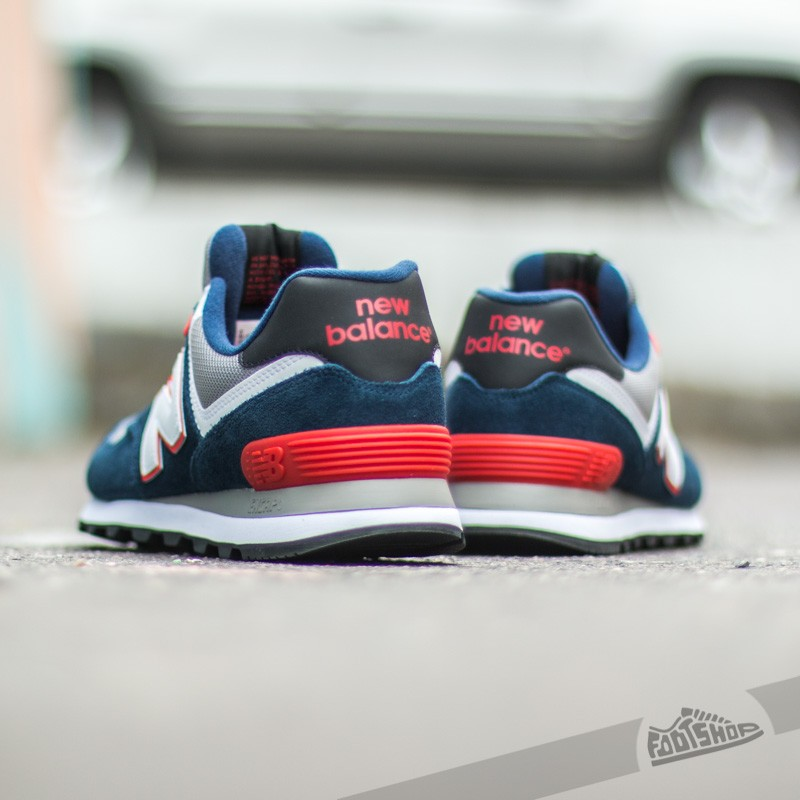 New Balance ML574CPM Blue Red White Grey | Footshop