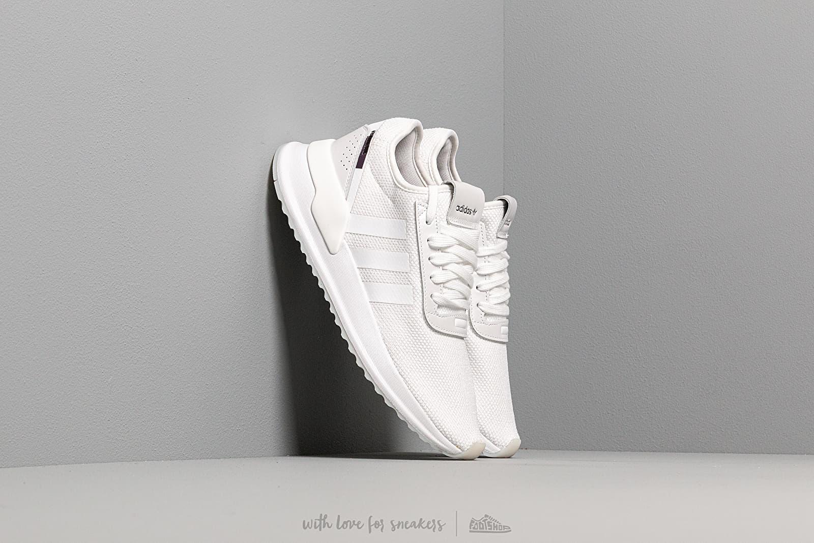 Încălțăminte și sneakerși pentru femei adidas U_Path X W Ftw White/ Purple Bleach/ Core Black