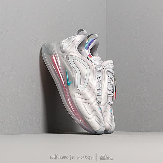 Nike W Air Max 720 Wolf Grey Teal Nebula Red Orbit White