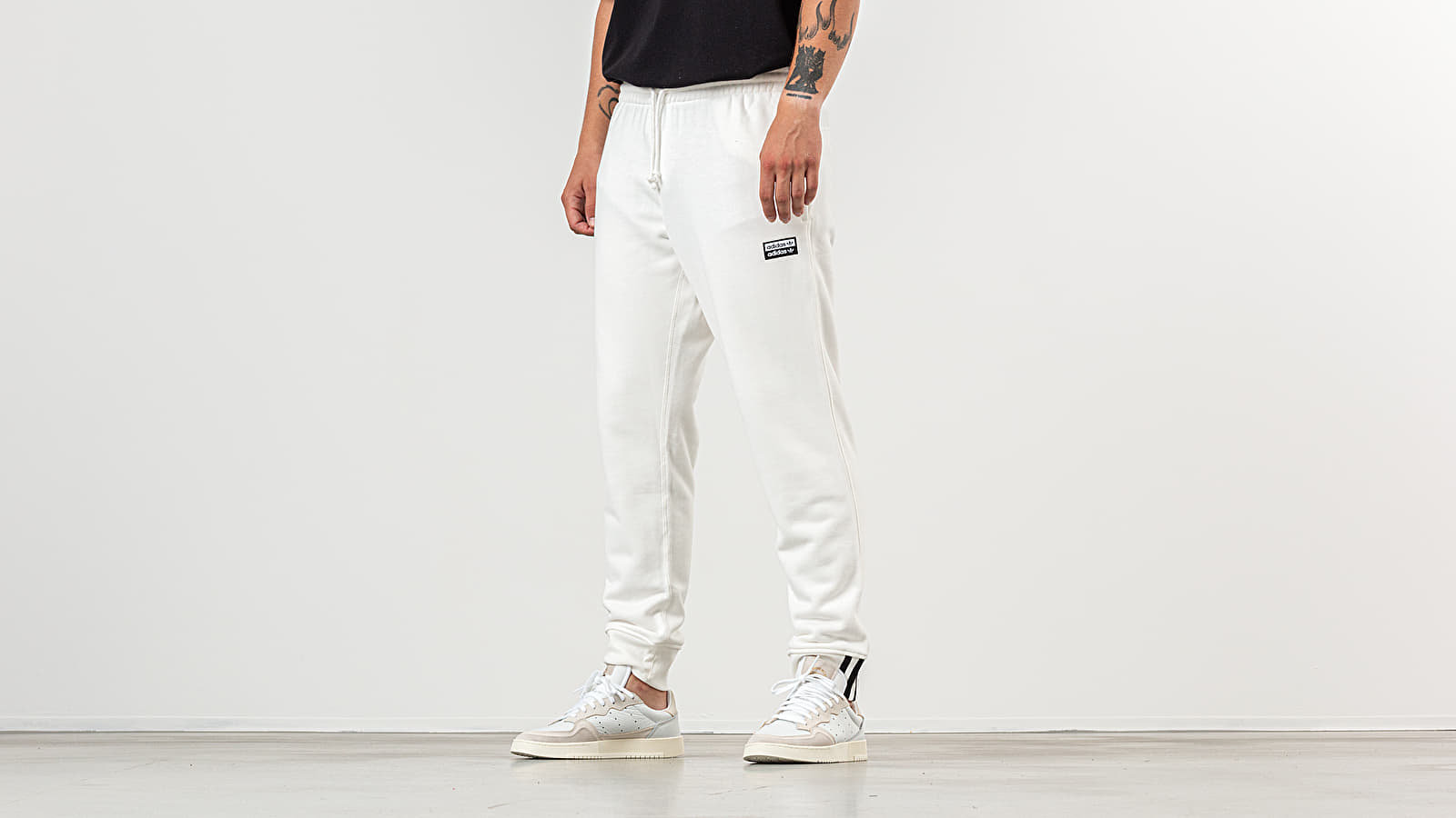 adidas R.Y.V. Sweat Pants Core White | Footshop