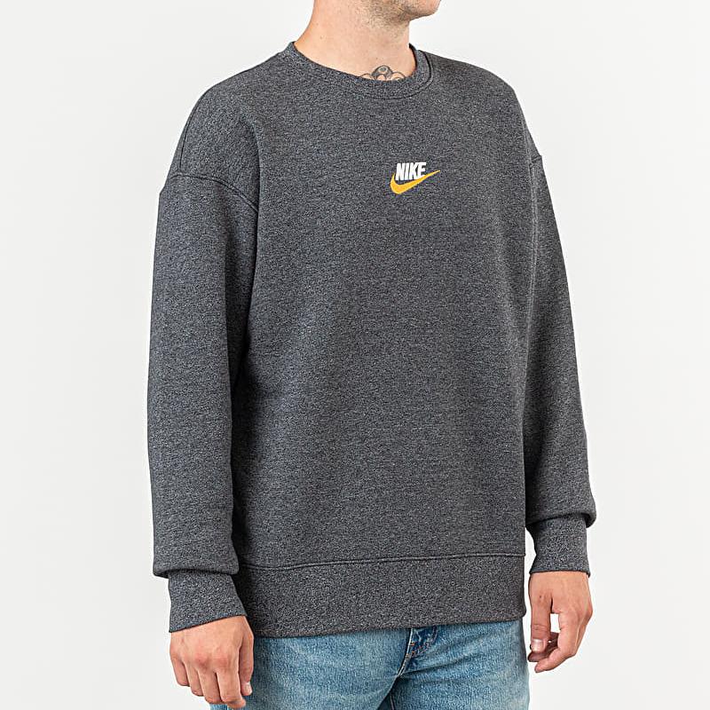 Nike Sportswear Heritage Crewneck Grey, Black