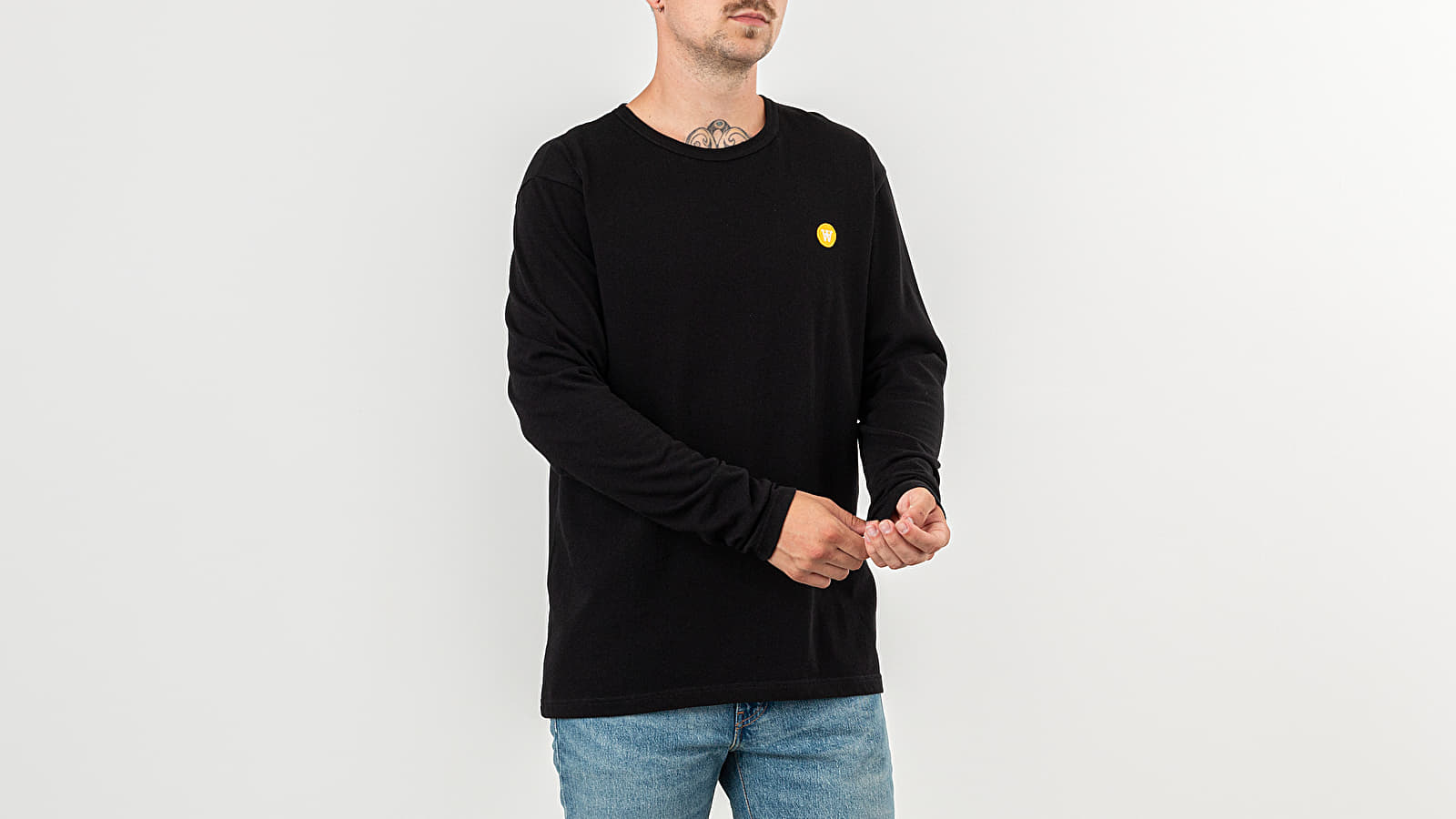 WOOD WOOD Mel Long Sleeve Tee