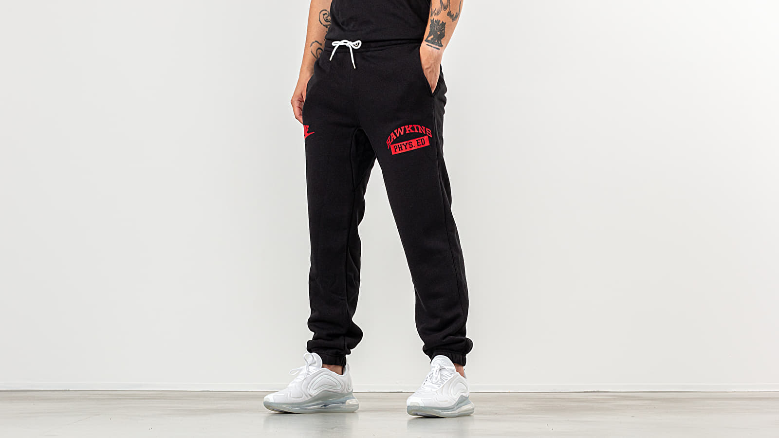 18c74ad2 Nike x Stranger Things NRG Club Pants Black/ White/ University Red ...