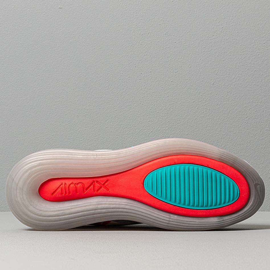 Nike Air Max 720 Wolf Grey/ Teal Nebula-Red Orbit-White, Gray
