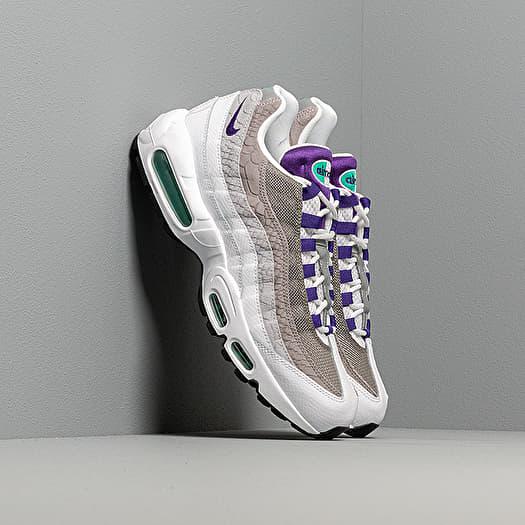 Nike Air Max 95 Lv8 White Court Purple Emerald Green | Footshop